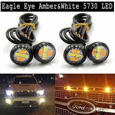 4pcs LED Eagle Eye White Amber Light Daytime Running DRL Backup Lamps For Chevy
