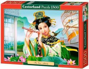 "Castorland Puzzle 1500 Pieces - Far East Melody - 27""x18.5"" Sealed box C-151035"