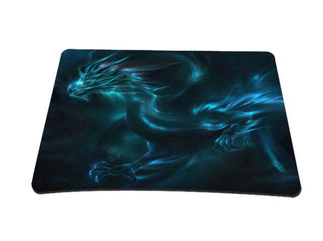 Silent Monsters Gaming und Office Mauspad 24 x 20 cm, Mousepad Design: Dragon