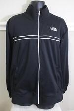 The North Face Men's Black/White Lining Full Zip TRACK JACKET Size XL (CO 500)