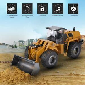 HUINA-583-1-14-RC-Car-Bulldozer-Engineering-Vehicle-Simulating-Excavator-Gift-2