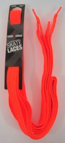 """Criss Cross Laces Roller Skate Length 72/"""" 183CM 3//8/"""" Cotton Blend Molded Plastic"""