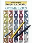 Designs for Coloring: Geometri by Ruth Heller (Paperback)