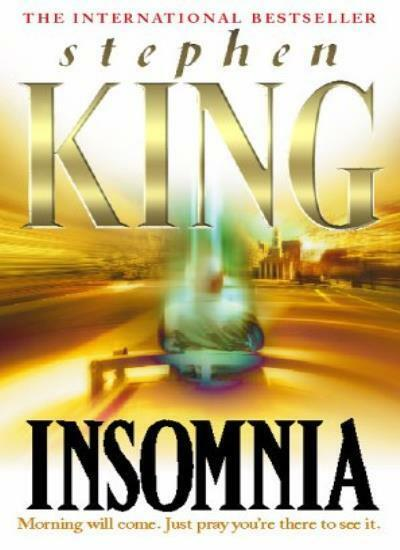Insomnia By  Stephen King. 9780340608456