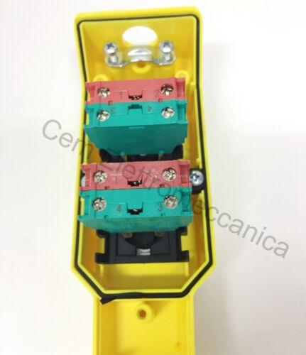 Pulsantiera P02.4 con 2 pulsanti Per montacarichi e motori comando ausiliario