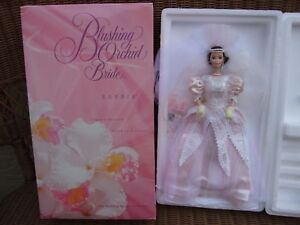 Blushing-Orchid-Bride-Barbie-Porcelain-Limited-Edition-1996-MIB