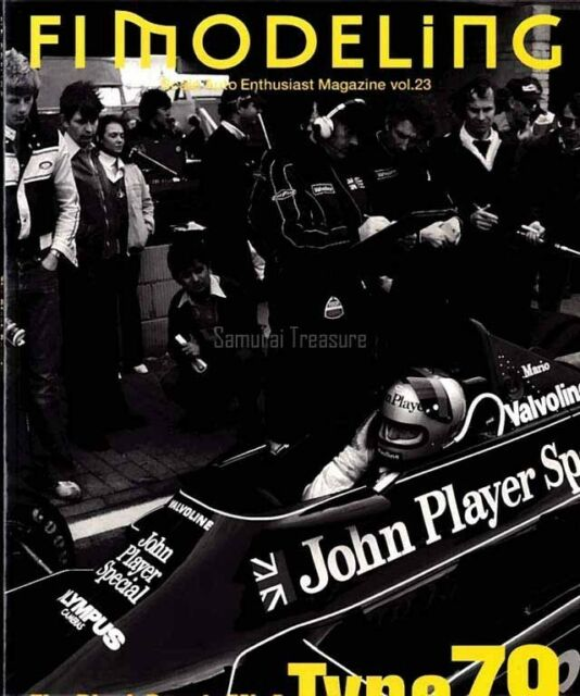 F1 MODELING Vol.23 Lotus Memorial,Type 79,Ronnie Peters