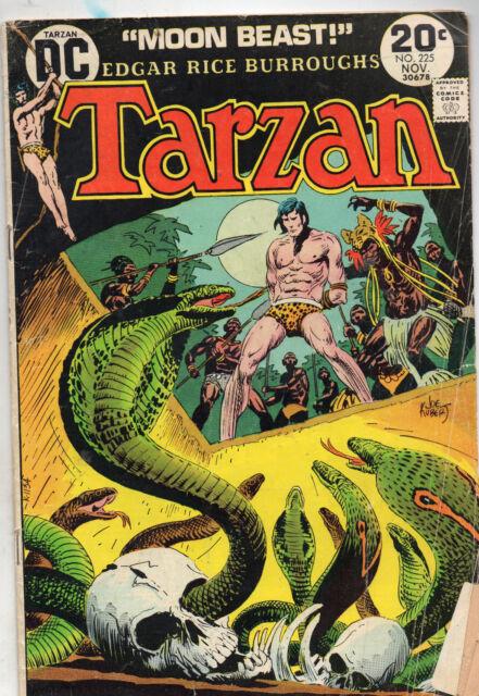 Tarzan #225 (Nov 1973, DC) Good/VG