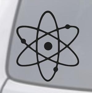 ATOMIC SYMBOL Vinyl Decal Sticker Car Window Wall Bumper Laptop Macbook jdm dope