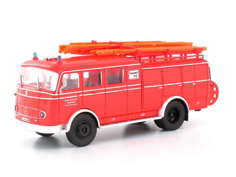Heico hc2029 h0 CAMION MERCEDES lp311 Pullman LF 16 pompiers vahrendorf löschgrupp