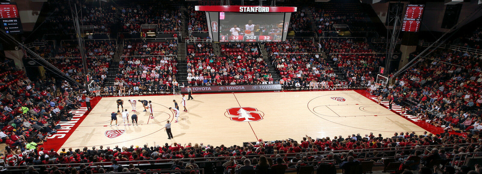 Washington State Cougars at Stanford Cardinal Basketball