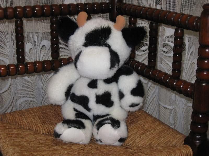 Dutch Holland Cow Plush Super Soft So Cute