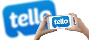 FREE Tello $10 Credit for New Users Mobile Cell Plan Smartphone Wireless (READ)