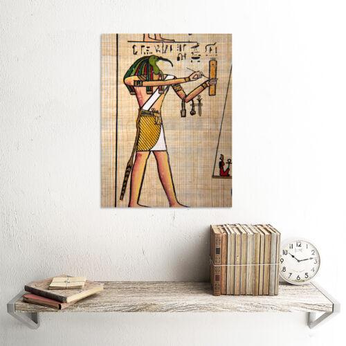 PAINTING WRITING HEIROGLYPH EGYPTAIN GOD THOTH IBIS HEAD POSTER PRINT BMP10854