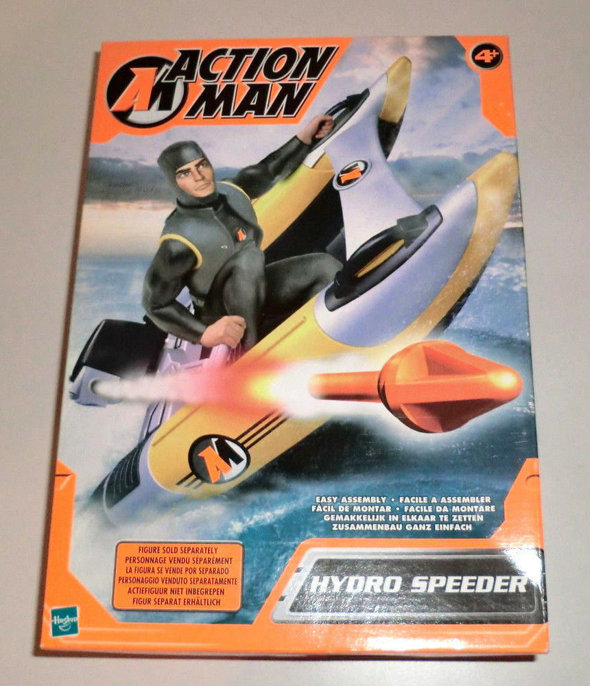 Hasbro Action Man 2002 Hydro Speeder NIP