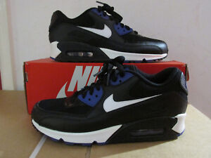 Nike AIR MAX 90 Essential Black Mens Running Trainers 537384