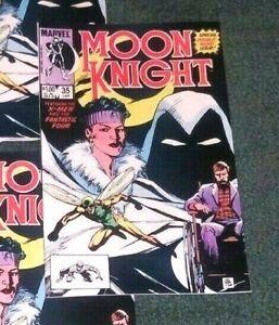 MOON-KNIGHT-35-NM-High-Grade-X-Men-Fantastic-Four-appearance-1984-MARVEL