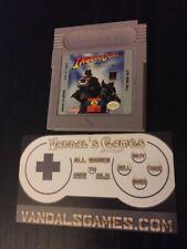 Indiana Jones and the Last Crusade (Nintendo Game Boy, 1994)