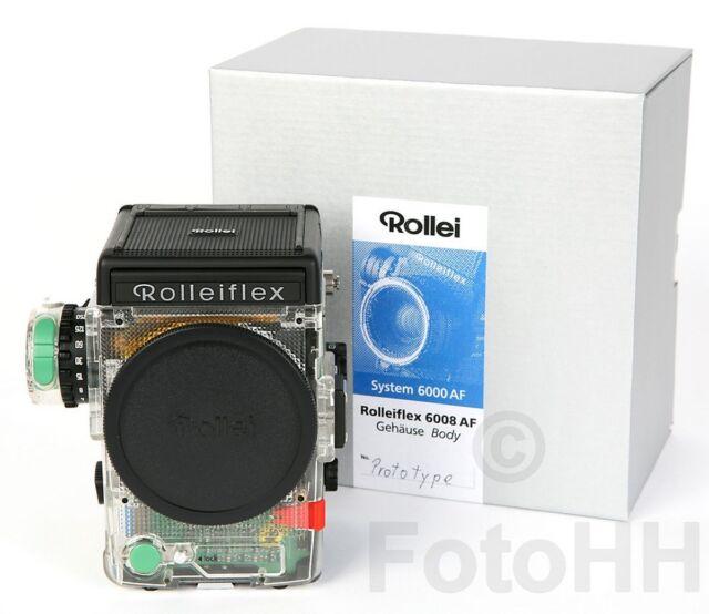 RARE TRANSPARANT ROLLEI ROLLEIFLEX 6008 AF PROFESSIONAL / RARE UNIQUE!!!
