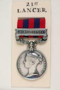 MILITARY BRITISH ARMY INDIA GENERAL SERVICE MEDAL BURMA 1887-89 BAR IGSM