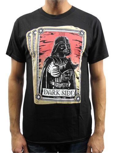 Star Wars Darth Vader Dark Side Tarot Card Black Men/'s T-Shirt New