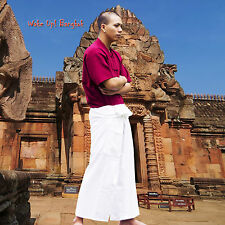 Hecha a mano Thai fisherman pantalones wickelhose meditación masaje yoga Tai Chi 1000