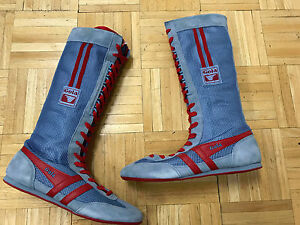 0b0572862955 Gola Superfly Boxing Boots Women`s Color Smoke Blue Red Size 5 U.S. ...