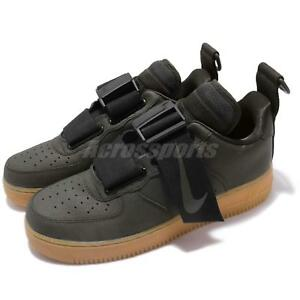 check out 0ac7d 857f4 Nike Air Force 1 Utility Sequoia Green Black Gum Mens Shoes Sneakers ...