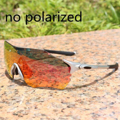 FUll red Lens TR90 Sports Polarized Cycling Glasses Men MTB Mountain Road Bike