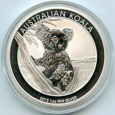 Australia 2015 Koala .999 Silver $1 Coin - Australian Dollar 1 oz bullion AD729