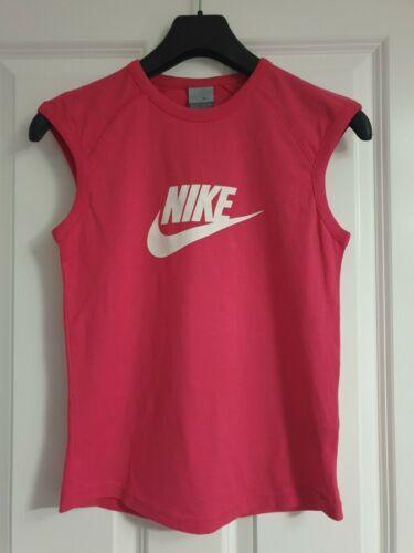 sans coton Nike Hot Retro Fuchsia organique manches en Débardeur Logo Pink White 0wnOX8Pk