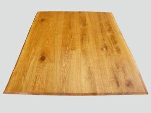 Tischplatte Arbeitsplatte massiv Eiche geölt naturbelassene ...