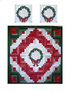 Log Cabin Christmas Tree Quilt.Details About Miniature Dollhouse Christmas Log Cabin Tree Quilt Top Computer Printed Fabric