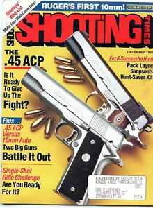 SHOOTING-TIMES-Magazine-December-1990-The-45-ACP
