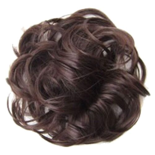 Haarteil Haarband Pferdeschwanz Extensions Haarverlängerungen Gewelltes Lock TJ