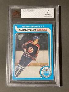 Wayne Gretzky 1979-80 OPC O-Pee-Chee Rookie Card RC BVG 7 Near Mint NM