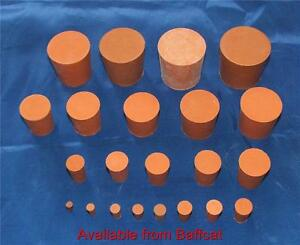 Rubber Stoppers Bungs 9mm Solid Red Pack of 2 Laboratory Engine Printer Push-In