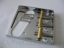 Fender Tele  Style 3 Messing Saddle, Bridge Dual Load