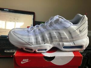 the latest 01ae5 81559 Details about Nike Air Max 95 Glacier Blue Mens AQ7981-100 White Running  Shoes Size 13