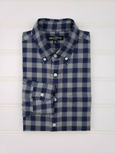 J-Crew-Mercantile-Flex-Blue-Medium-Checked-Gray-Shirt-Gingham-Super-Recent-2018