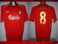 Liverpool GERRARD Adult L Champions League Reebok Shirt Jersey Soccer Football