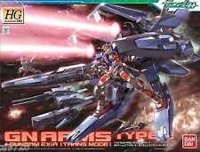 Bandai Gundam 00 HG 1/144 13 GN Arms Type-E + Gundam Exia Model Kit