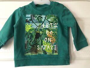 """""""next"""" Sweat-shirt - 3-6 Mois-afficher Le Titre D'origine Bon Pour L'éNergie Et La Rate"""