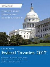 Pearson's Federal Taxation 2017 Individuals Hard Cover