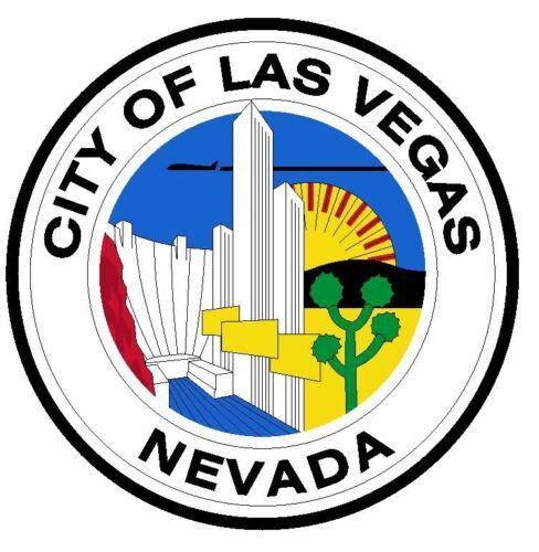 Sceau de Las Vegas Nevada Autocollant//Autocollant R685