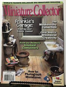 Miniature Collector Magazine July 2017