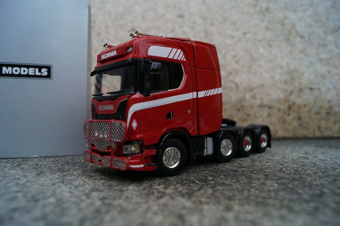 WSI Scania S Highline   CS20H 4 Axle Tractor Red 1 50 NEW OVP
