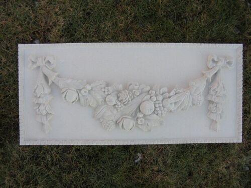 Gartendeko Fassadenstuck Steinfiguren Relief Stuck Schmuckranke Steinguss