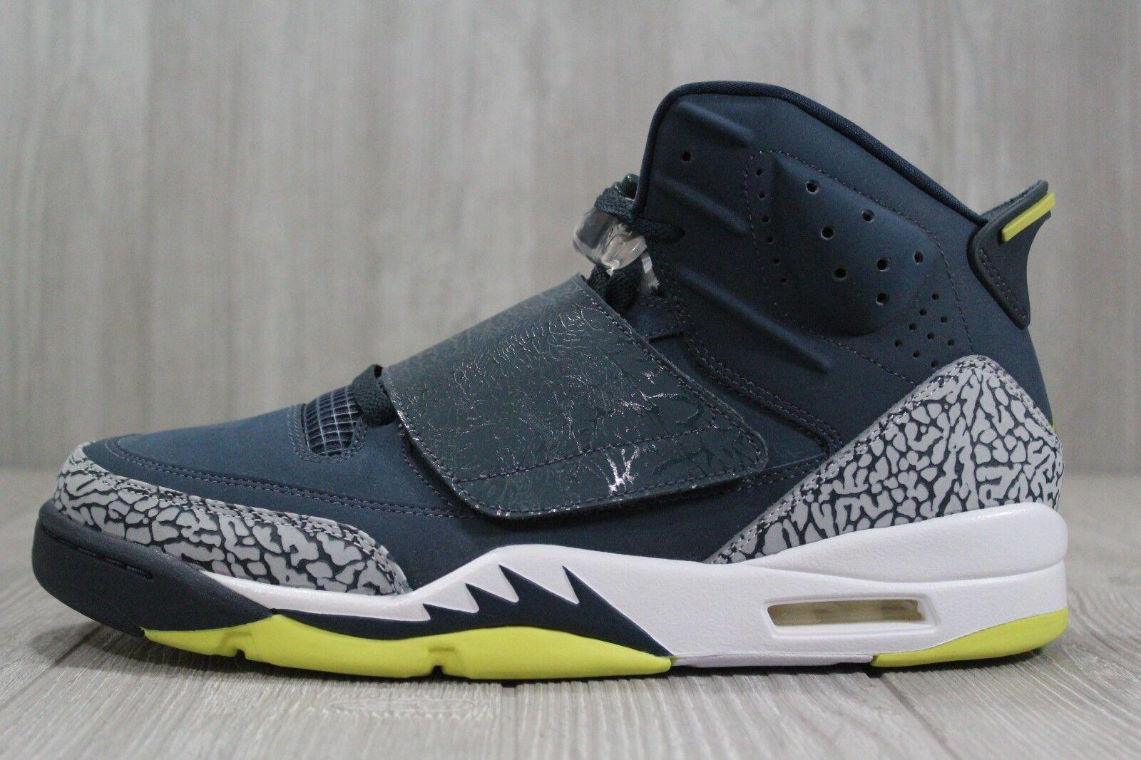 35 New Nike Jordan Son of Mars Spizike Mens 11.5 13 Armory Navy shoes 512245-405