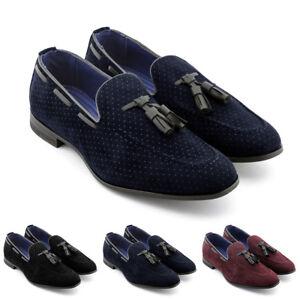 Dettagli su Mocassini uomo Gianni Shoes loafers scamosciati scarpe classiche eleganti Y41